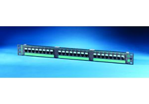 Ortronics Clarity 5e Patch Panel-24 Port, 8 Port Modules