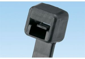 7.4 Inch - 50lb - Panduit Pan-Ty Strong Cable Tie - Black - 1000 Per Pack