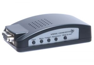 RCA and S-Video to VGA Converter Box