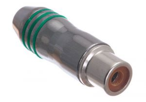 Deluxe RCA Female Solder Connector - Metal