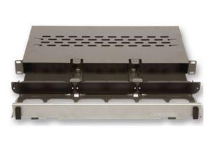 Corning Pretium® Connector Housing - Reduced Depth - 1 Rack Unit