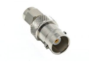 BNC Female to Reverse Polarity SMA Male Adapter