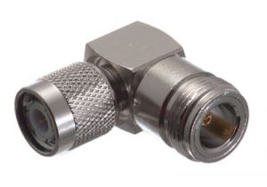 TNC Male to N Female Right Angle Adapter