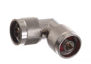N Male to N Male Right Angle Adapter