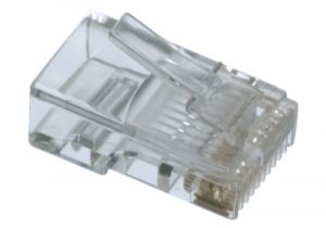 RJ45 Connector - 10P10C - Solid Cable - 10 Pack