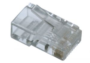 RJ45 Cat5e Connector - 8P8C - Stranded Cable - 10 Pack