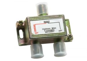 2.1 GHz TV-Satellite Diplexer / Combiner - VHF/UHF