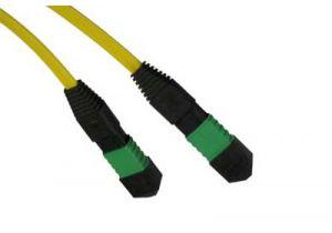 9/125 OS2 Singlemode MTP/MPO Fiber Patch Cable - 12 Fiber
