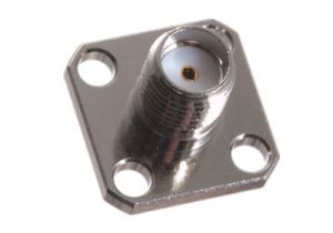 SMA Female Chassis Mount Receptacle