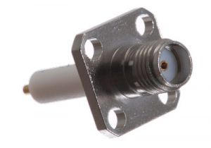 SMA Female Extended Chassis Mount Receptacle