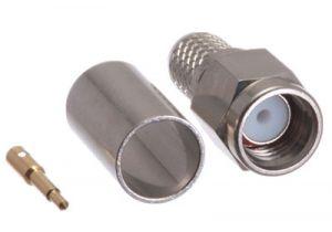 SMA Male Crimp Connector - LMR-240