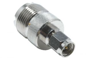 SMA Male to UHF Female Adapter