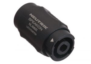Neutrik speakON Male to speakON Male Lockable Coupler Adapter | NL4MMX