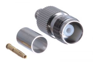 TNC Female Crimp Connector - RG59 & RG62