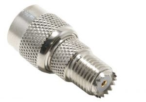 TNC Male to Mini UHF Female Adapter