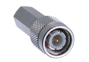 TNC Male Twist-On Connector - RG59 & RG62 Plenum