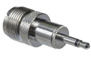UHF Female to 3.5mm Mono Male Adapter