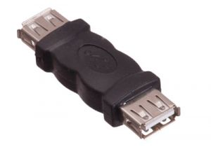 USB 2.0 A Female to A Female Adapter