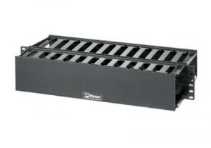 Panduit Dual Sided Horizontal Cable Manager - 2 RU