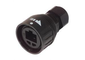 L-com IP67 RJ45 Plug Kit - Cat5E - Dome Style