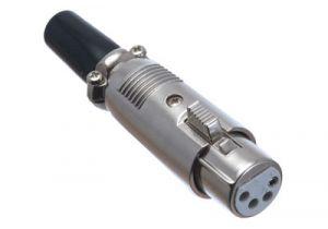 XLR 4 Pin Female Solder Connector