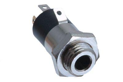 3 5mm trrs jack panel mount connector metal showmecables com