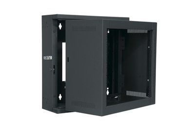 Middle Atlantic Ewr Series Economical Sectional Wall Mount Rack 17 Inch Depth 8 Ru