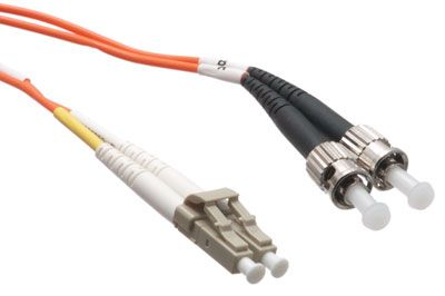 Multimode Fiber Patch Cable - 50/125 - LC/ST