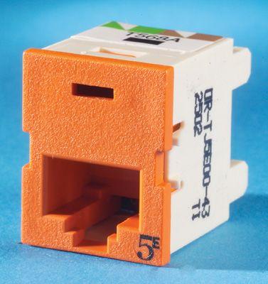 category 5e information outlet | ortronics clarity tracjack |  showmecables com