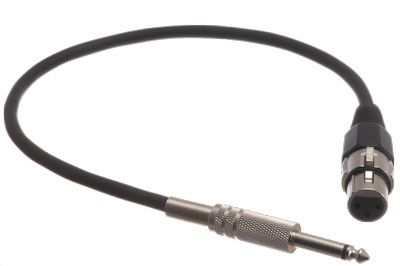 Pro Audio Cable Xlr Female To 14 Mono Male Cable Showmecablescom