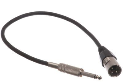 Pro Audio Cable 6ft Xlr Male To 14 Mono Male Cable