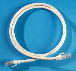 Blue 5 Ortronics MC605 RJ45-RJ45 Category-6 UTP Modular Patch Cord Pack of 10