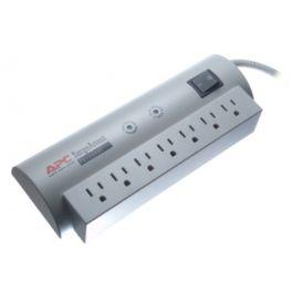 basic surge protector 6ft 7 outlet vertical power strip. Black Bedroom Furniture Sets. Home Design Ideas