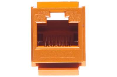 cat5e universal jack module panduit netkey orange 2 panduit netkey cat5e rj45 universal keystone orange panduit cat6 jack wiring diagram at bayanpartner.co