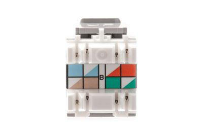 Leviton 5G108RG5 GigaMax 5e QuickPort Connector Gray – Leviton Rj45 Jack Wire Diagram