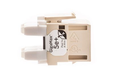 leviton cat5e jack high density ivory side leviton 5g110 ri5 cat5e jack high density ivory showmecables com leviton gigamax 568 wiring diagram at bayanpartner.co