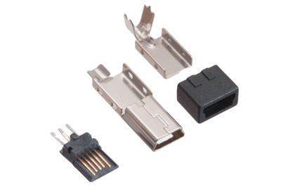 Mini b usb 5 pin male solder connector usb computer email details usb mini b male solder connectors sciox Image collections