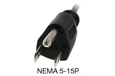 5 15 c19 power cord 2ft server cable trianglecables server power cord nema 5 15p to c19 15 amp sciox Gallery