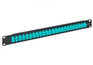 High Density MTP/MPO Fiber Patch Panel - 40/100GB - 24 Port