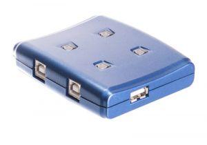 4-Way USB Auto Share Switch