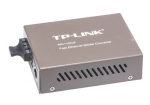 10/100 Mbps Singlemode Fiber Optic Ethernet Media Converter - SC -  20 Km