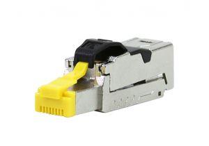 CAT8 Shielded RJ45 Field Termination Plug