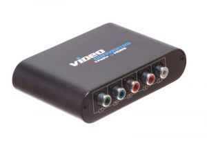 Component Video and RCA Audio to HDMI Converter