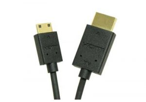 High Speed Mini HDMI to Standard HDMI with Ethernet and RedMere Technology