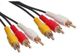 High Performance Triple RCA Cable