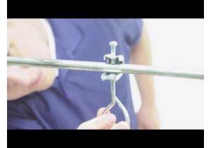 Steel Beam Clamp - 3/4 Inch - 1/4-20 Thread