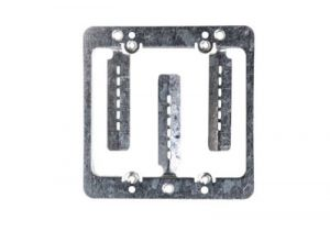 Low Voltage Mounting Bracket - Double Gang - Box Eliminator - MPLS
