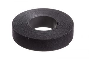 Panduit Tak-Tape Bulk Hook and Loop Fastening Cable Tie - 20 Foot Roll x 3/4 Inch - Black