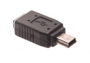 USB 2.0 Mini B Male to Micro B Female Adapter