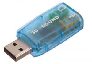 USB to Dual 3.5mm Female - Stereo Audio and Microphone Converter